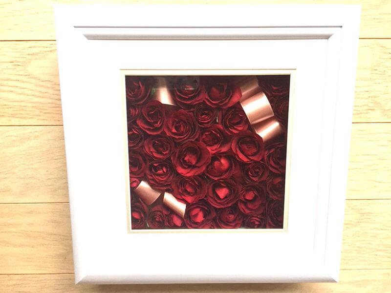 100本のプロポーズ花束の保存