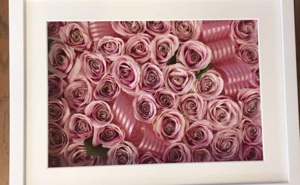 20歳の誕生日プレゼントの花束を記念に保存加工